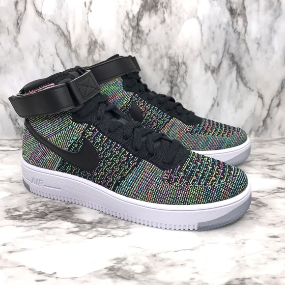 air force 1 mid flyknit